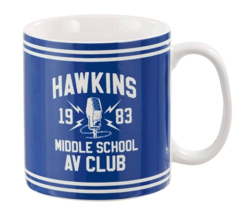 Stranger Things Hawkins AV Club Mug