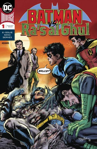 BATMAN VS RAS AL GHUL #1 (OF 6)
