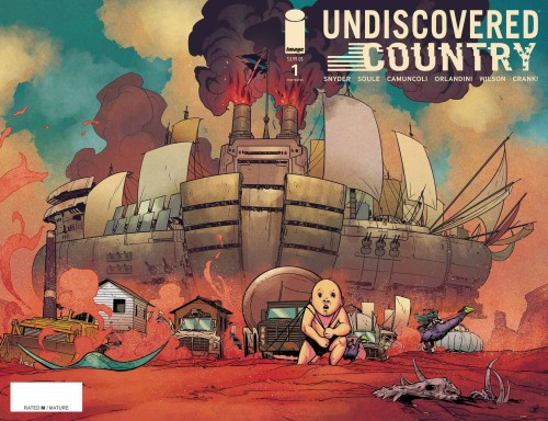 UNDISCOVERED COUNTRY #1 3RD PTG