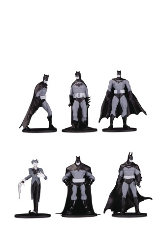 BATMAN BLACK & WHITE BLIND BAG MINI FIGS W 3