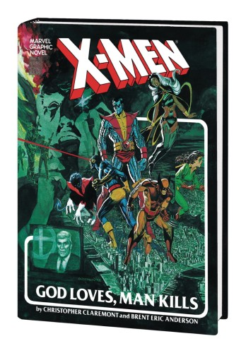 X-MEN GOD LOVES MAN KILLS EXTENDED CUT GALLERY EDITION HC