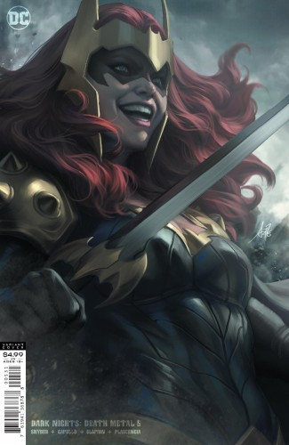 DARK NIGHTS DEATH METAL #5 (OF 7) CVR C STANLEY ARTGERM LAU KULL VAR
