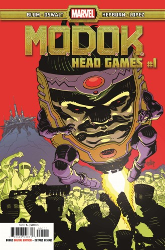 MODOK HEAD GAMES #1 (OF 4)