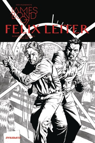 JAMES BOND FELIX LEITER #2 (OF 6) CVR B 10 COPY B&W INCV