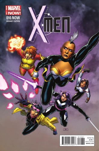 X-MEN #10.NOW CASSADAY VAR ANMN