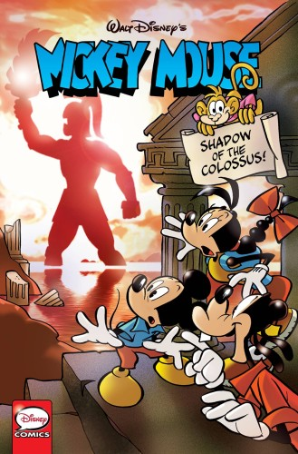 MICKEY MOUSE SHADOW OF COLOSSUS TP