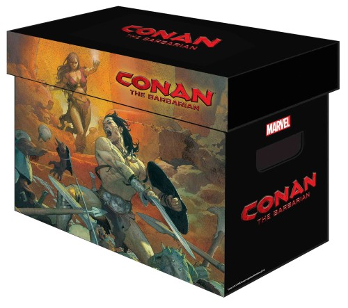 MARVEL GRAPHIC COMIC BOXES CONAN BARBARIAN (PUDŁO NA KOMIKSY)