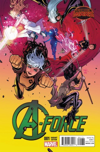 A-FORCE #1 DAUTERMAN VAR SW