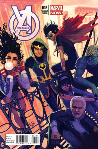 YOUNG AVENGERS #2 HANS VAR NOW
