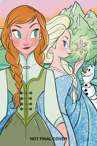 DISNEY FROZEN BREAKING BOUNDARIES #3 CVR B THOMPSON