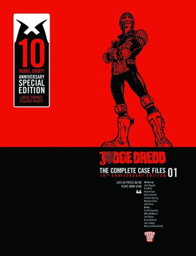 JUDGE DREDD COMP CASE FILES ANNIV ED HC VOL 01