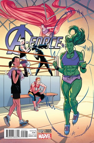 A-FORCE #5 ANKA VAR