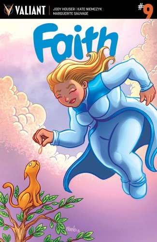 FAITH (ONGOING) #9 CVR E 20 COPY INCV FRANCO
