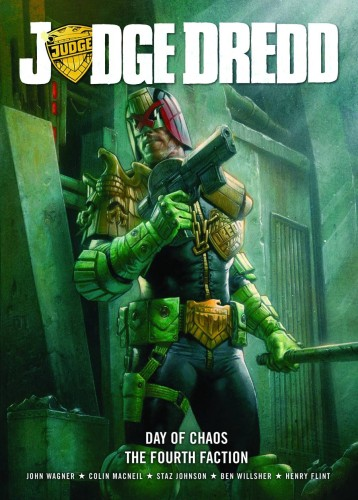 JUDGE DREDD DAY OF CHAOS FOURTH FACTION GN