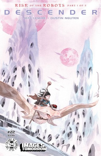 DESCENDER #22 CVR C IMAGES OF TOMORROW VAR