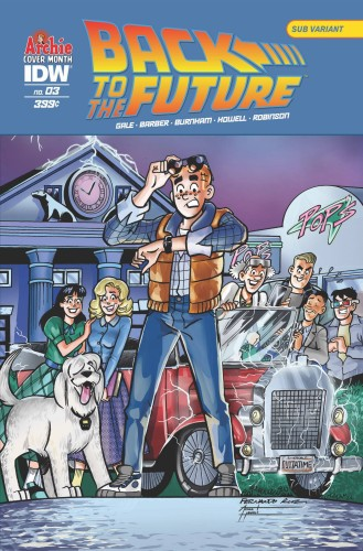 BACK TO THE FUTURE #3 ARCHIE 75TH ANNV VAR