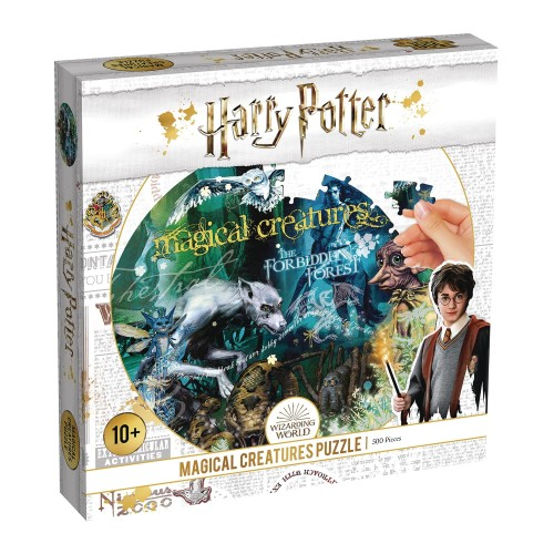 HARRY POTTER MAGICAL CREATURES 500 PC PUZZLE