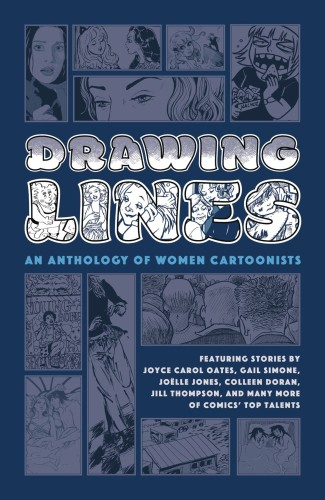 DRAWING LINES WOMEN CARTOONIST ANTHOLOGY HC