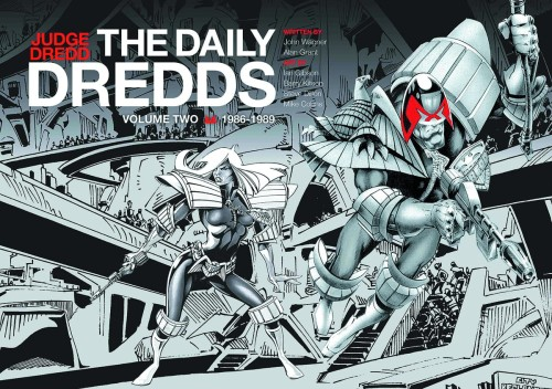 JUDGE DREDD DAILY DREDDS HC VOL 02