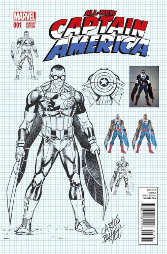 ALL NEW CAPTAIN AMERICA #1 PACHECO VAR