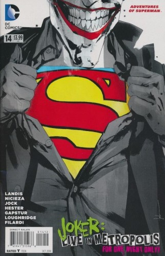 ADVENTURES OF SUPERMAN #14 2ND PTG