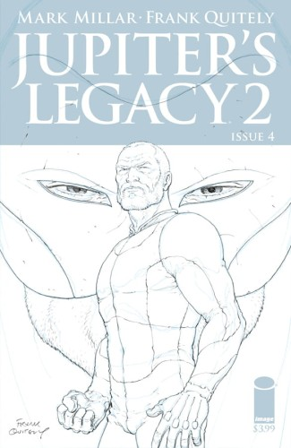 JUPITERS LEGACY VOL 2 #4 (OF 5) 25 COPY INCV QUITELY SKETCH