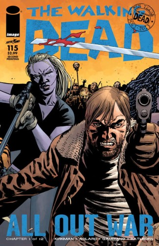 WALKING DEAD #115 2ND PTG