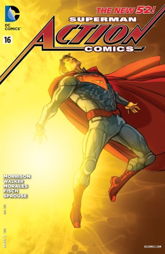 ACTION COMICS #16 VARIANT (N52)