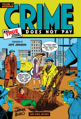 CRIME DOES NOT PAY ARCHIVES HC VOL 10