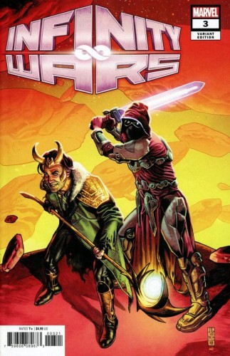INFINITY WARS #3 (OF 6) JONES PROMO VAR