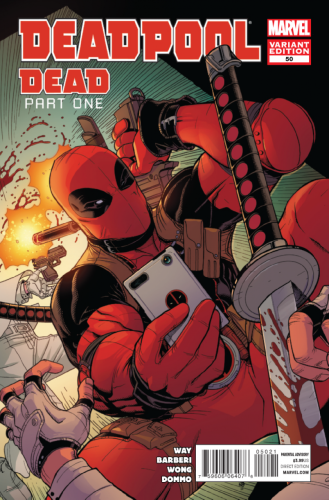 DEADPOOL #50 BRADSHAW VAR