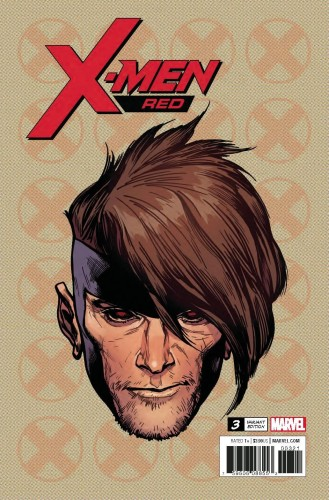 X-MEN RED #3 CHAREST HEADSHOT VAR LEG