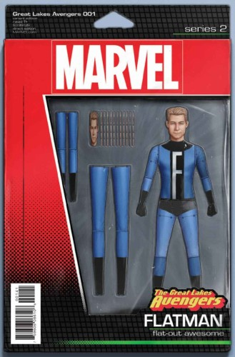 GREAT LAKES AVENGERS #1 CHRISTOPHER ACTION FIGURE