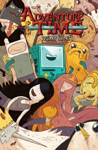 ADVENTURE TIME SUGARY SHORTS TP VOL 01