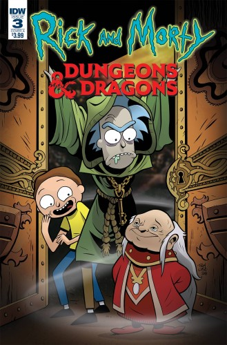 RICK & MORTY VS DUNGEONS & DRAGONS #3 (OF 4) CVR A LITTLE