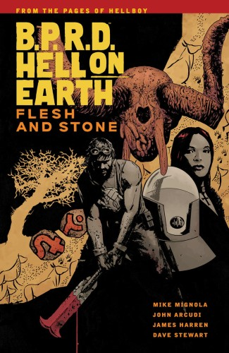 BPRD HELL ON EARTH TP VOL 11 FLESH AND STONE