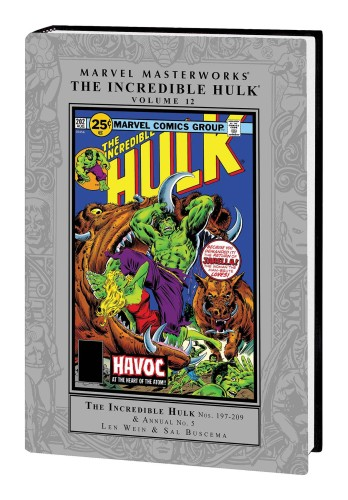 MARVEL MASTERWORKS INCREDIBLE HULK HC VOL 12